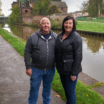 Trent and Mersey Canal, Middleport - Oct 2017 - Neil and Dawn