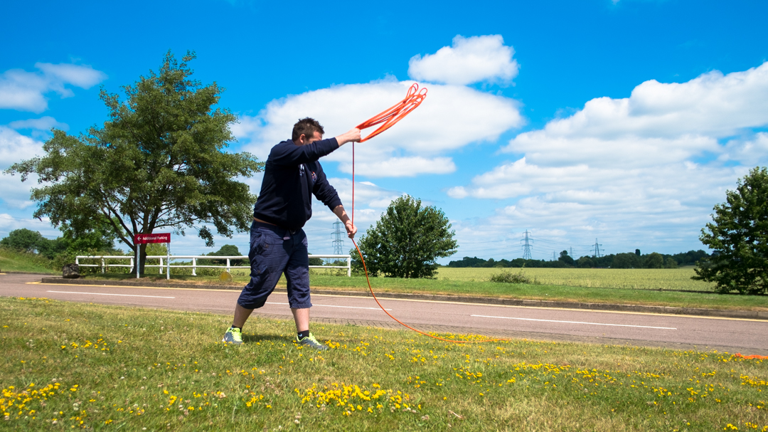 RLSS Conference 2017 - Rope Throwing A